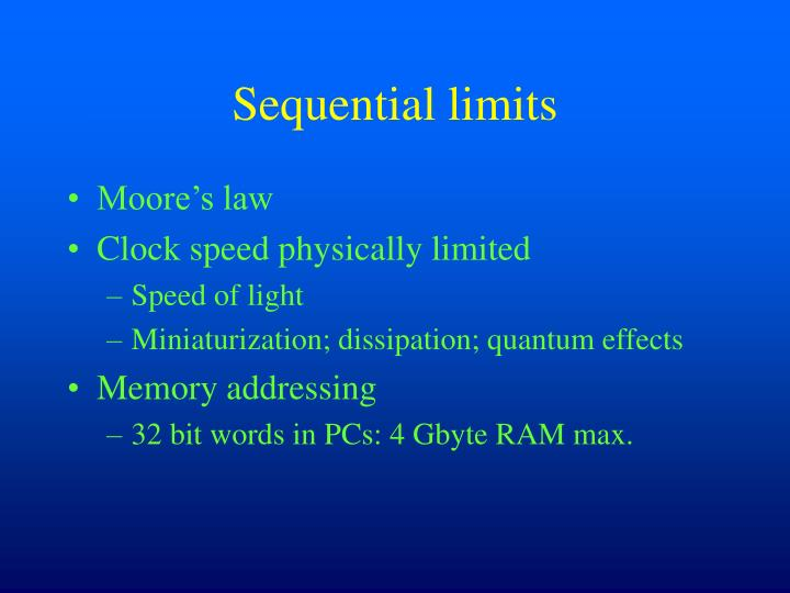 Sequential limits