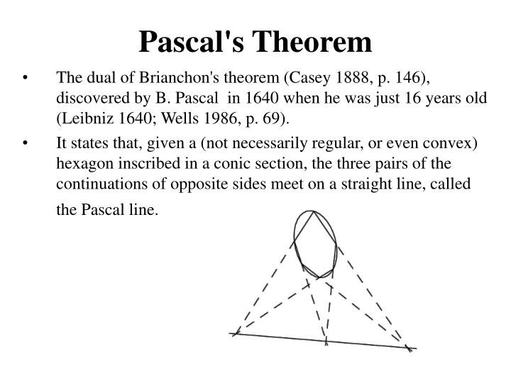 Pascal's Theorem