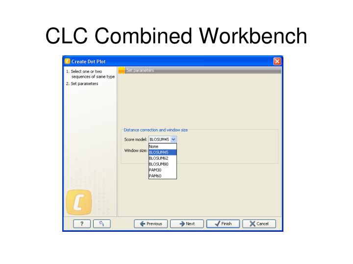 CLC Combined Workbench