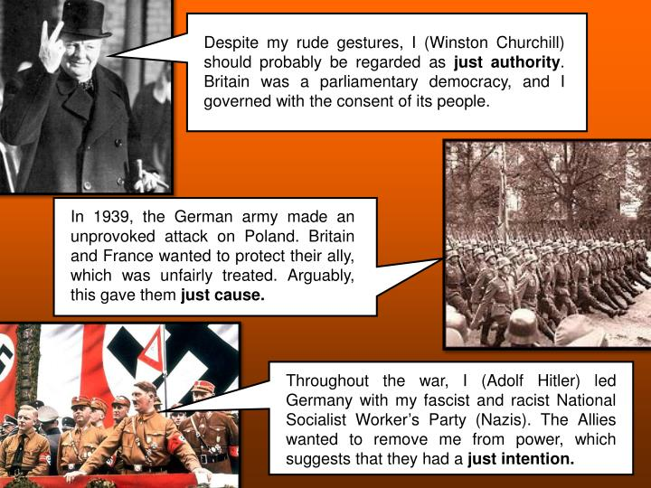Despite my rude gestures, I (Winston Churchill) should probably be regarded as