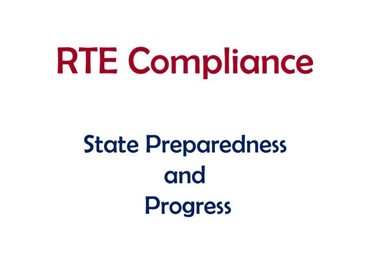 RTE Compliance