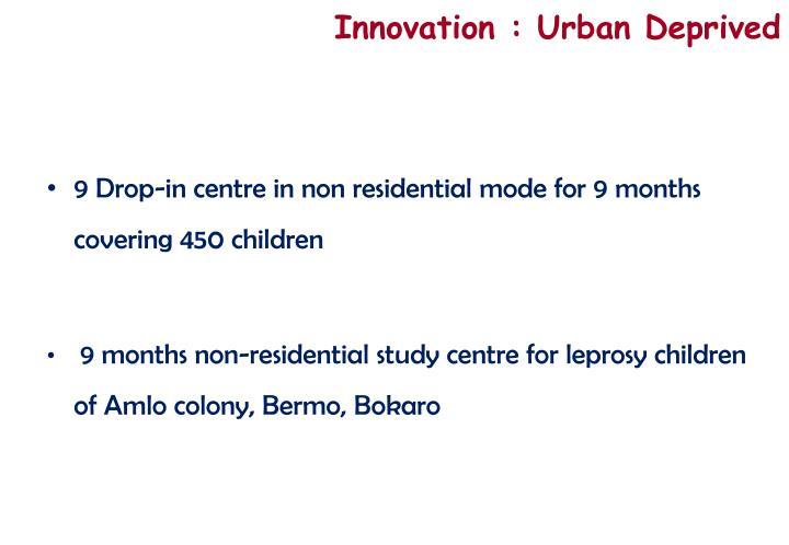 Innovation : Urban