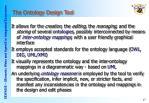 the ontology design tool