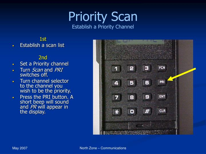Priority Scan