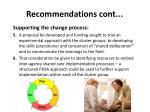 recommendations cont1