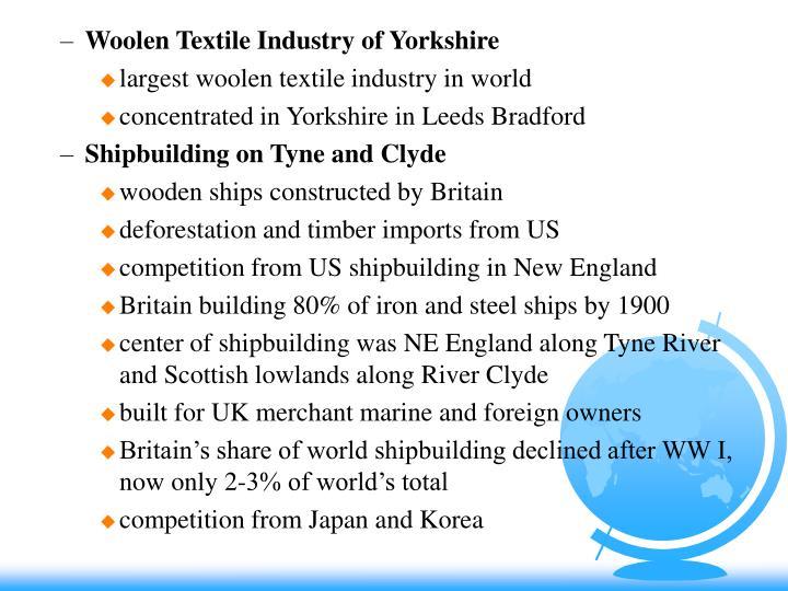 Woolen Textile Industry of Yorkshire