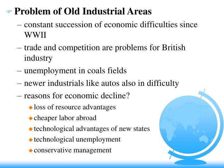Problem of Old Industrial Areas
