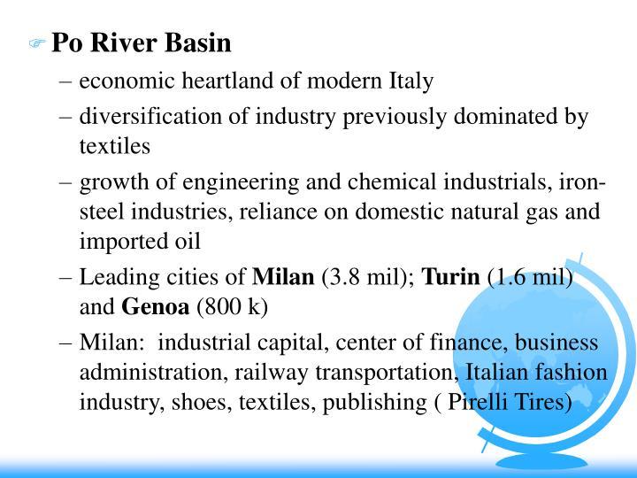 Po River Basin