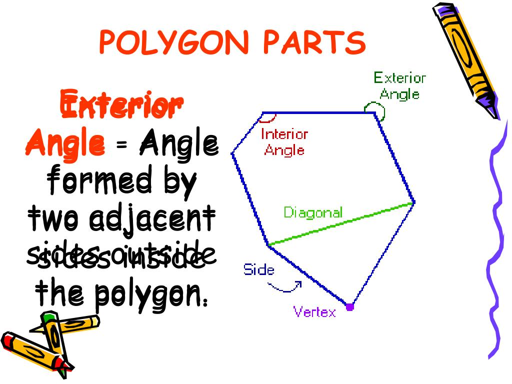 PPT - Finding the Sum of the Interior Angles and Exterior Angles of Any Polygon. PowerPoint