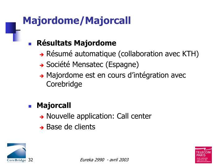 Majordome/Majorcall