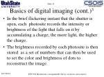 basics of digital imaging cont 3