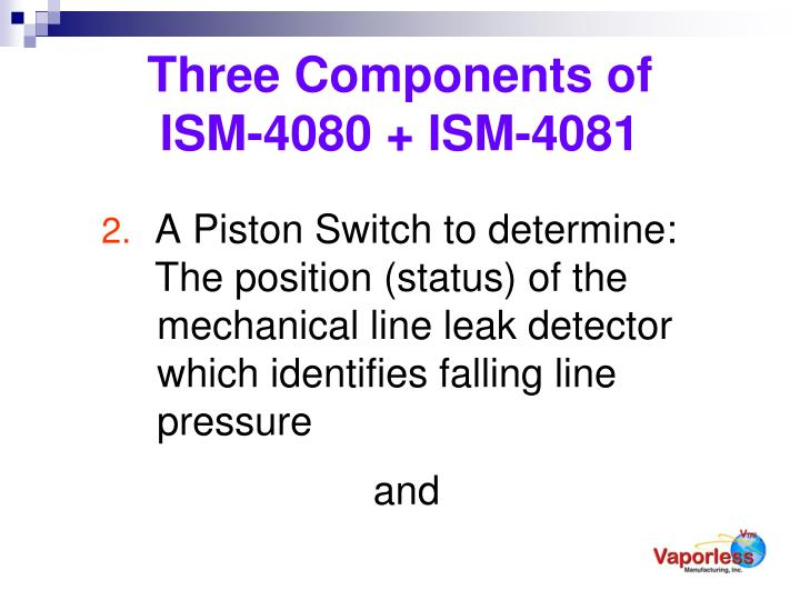 Three Components of