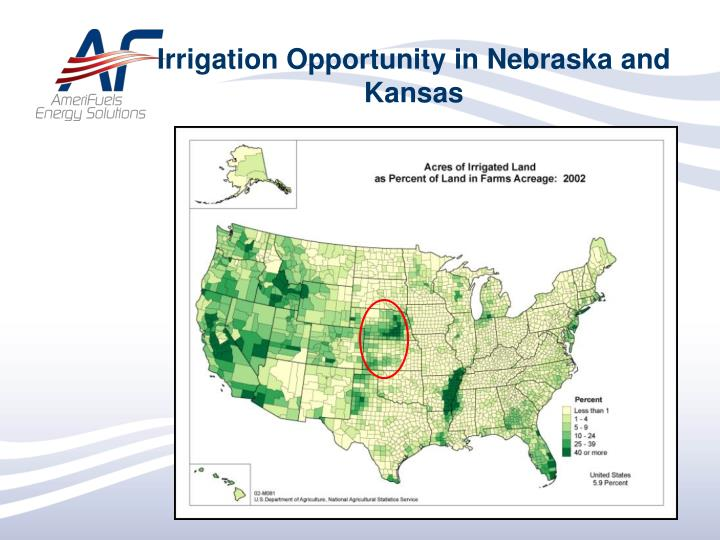 Irrigation Opportunity in Nebraska and Kansas