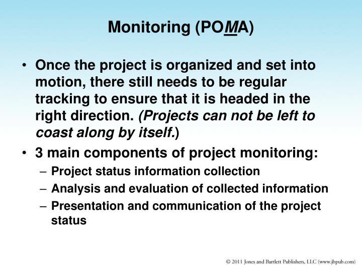 Monitoring (PO