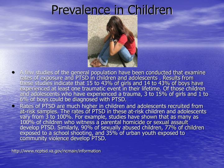 Prevalence in Children
