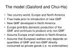 the model gaisford and chui ha