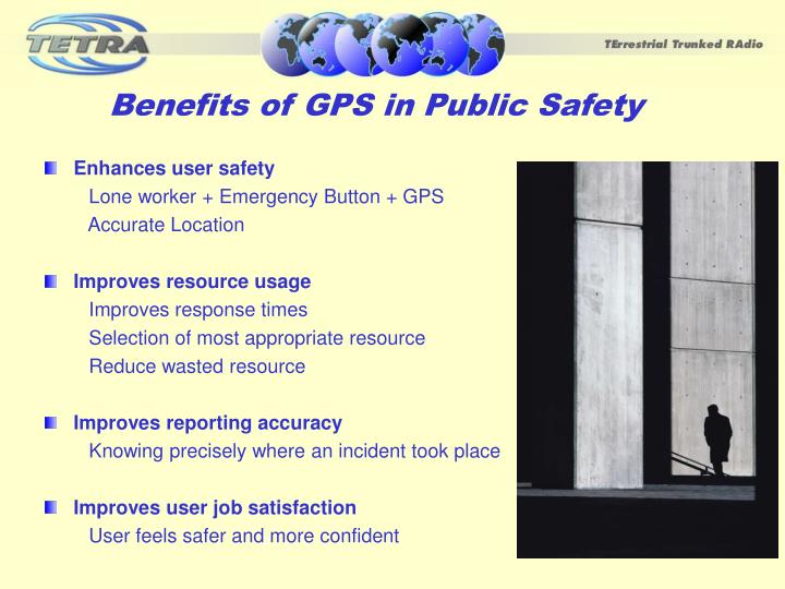 Benefits of GPS in Public Safety