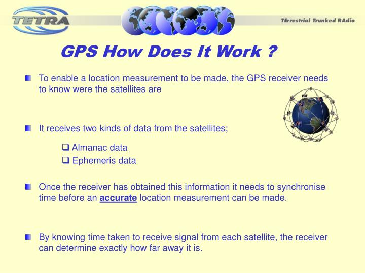 GPS How Does It Work ?