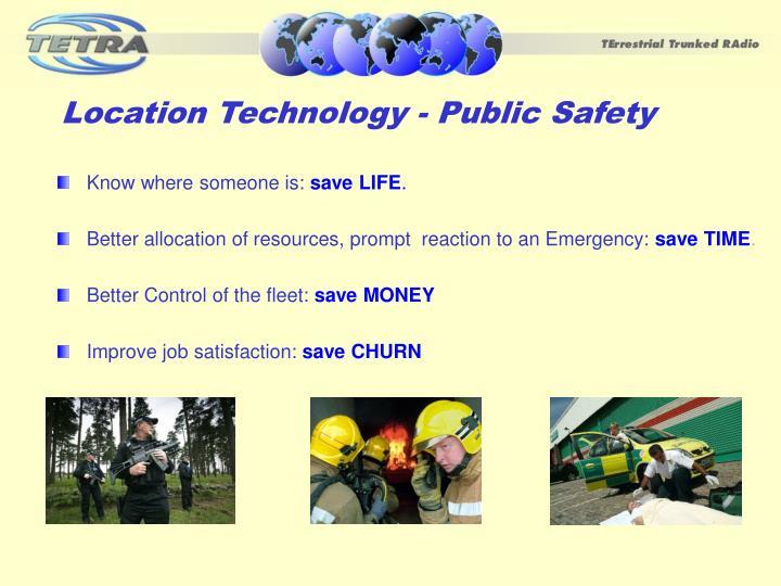 Location Technology - Public Safety