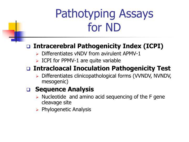 Pathotyping Assays