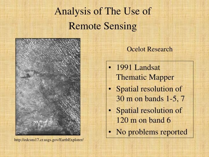 Analysis of The Use of