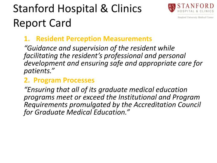 Stanford Hospital & Clinics