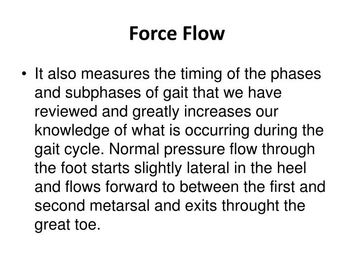 Force Flow
