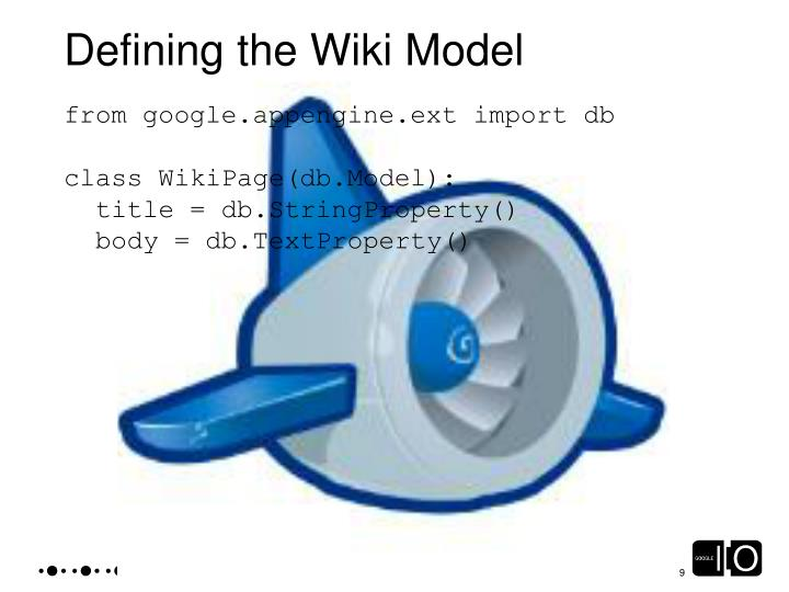 Defining the Wiki Model