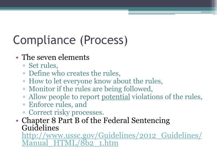 Compliance (Process)
