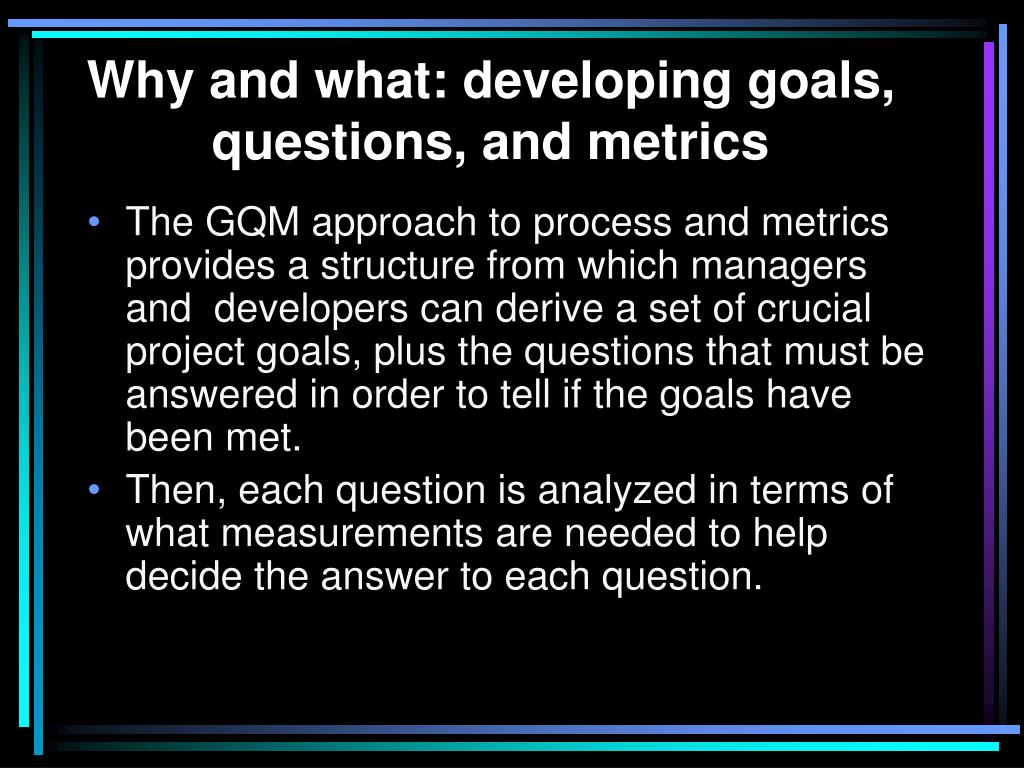 PPT - Planning a measurement program PowerPoint Presentation - ID