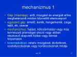 mechanizmus 1
