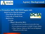 agency background