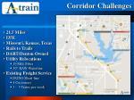 corridor challenges