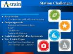 station challenges