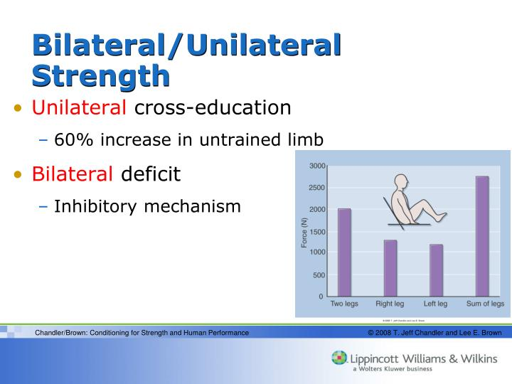 Bilateral/Unilateral Strength