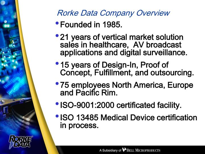 Rorke data company overview