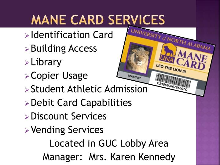 Mane Card Services