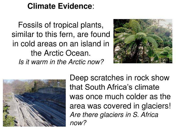 Climate Evidence