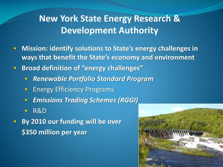 New York State Energy Research & Development Authority