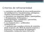 criterios de refractariedad1