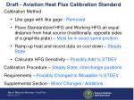 draft aviation heat flux calibration standard1