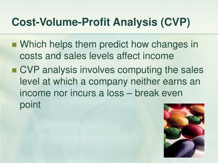 cost volume profit analysis assignment sample In this assignment, your goal is to use cvp analysis in a presentation of your project to enable a prospective investor to decide if your project is worth investing in.
