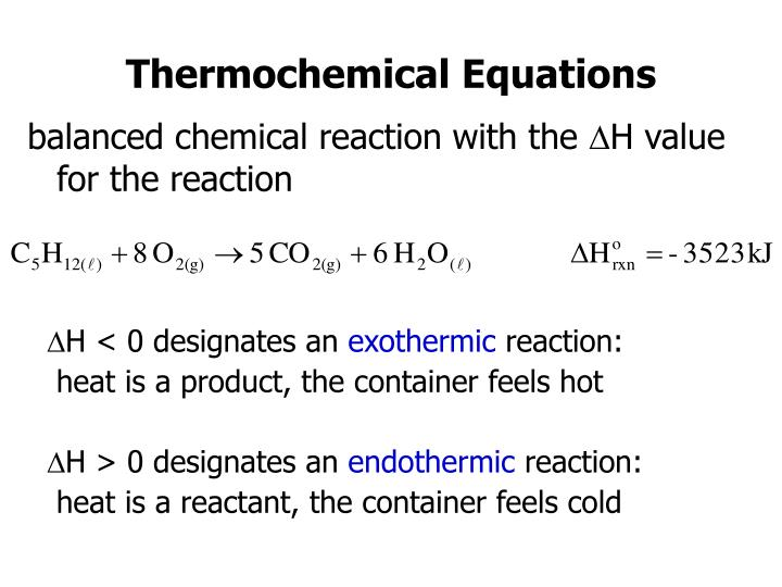 balanced chemical reaction with the