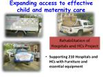 rehabilitation of hospitals and hcs project
