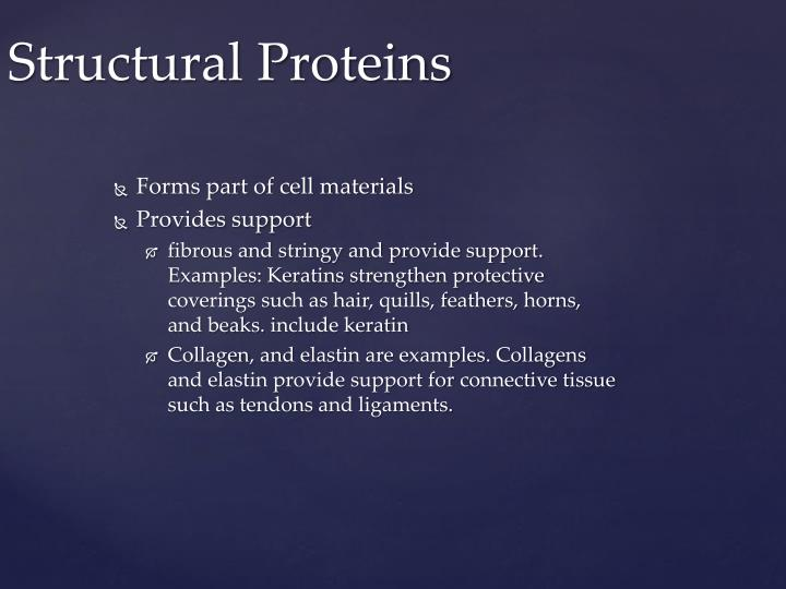Forms part of cell materials