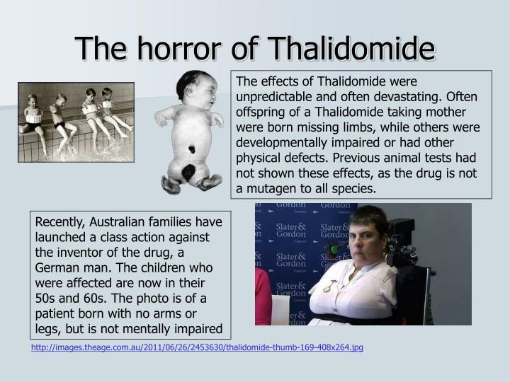 The horror of Thalidomide