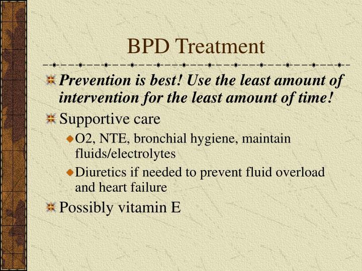 BPD Treatment