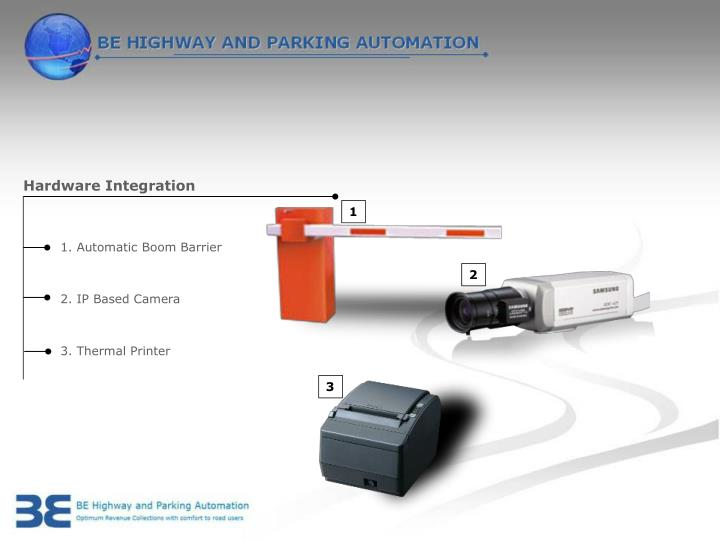 Hardware Integration