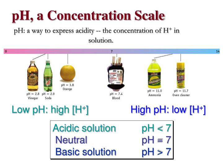 pH, a Concentration Scale