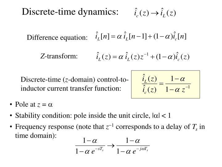Discrete-time dynamics: